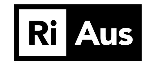 RiAus Logo mono 1238x514